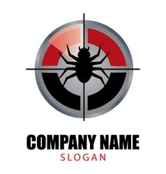 Pest control logo vector