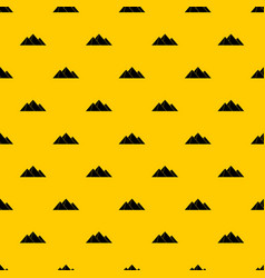 Pyramids pattern vector