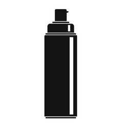 sunscreen lotion icon simple style vector image