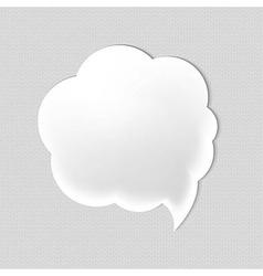 Web Speech Bubble vector image vector image