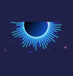 abstract dark violet background light blue vector image