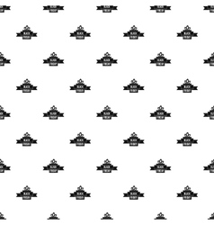 Black Friday ribbon pattern simple style vector