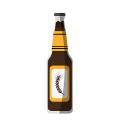 Bottle of beer icon image vector