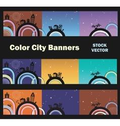City theme vector image