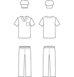 Culinary suit vector