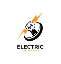 Electric logo vector