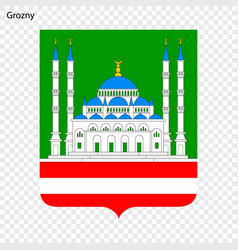 Emblem of grozny vector