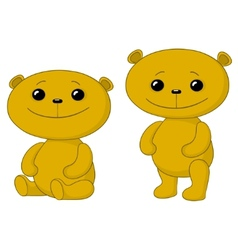 teddy bears friends vector image vector image