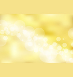 gold background and texture with bokeh elegant vector image vector image