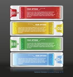 Modern web design white template vector image