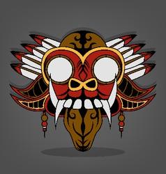 Steampunk Barong Bali vector image