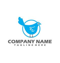 bird logo flying bird logo line art bird logo vector image