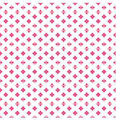 Color pink dense cute little flower dots pattern vector