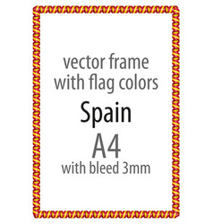 Flag v12 spain vector