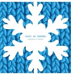 knit sewater fabric horizontal texture Christmas vector image