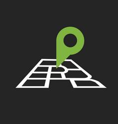 P r logo vector