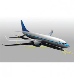 Parking plane vector
