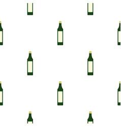 vinegar bottle pattern seamless vector image