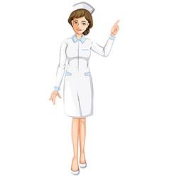 A nurse vector image vector image