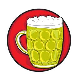 beer pint clip art vector image