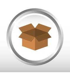 box icon design vector image vector image