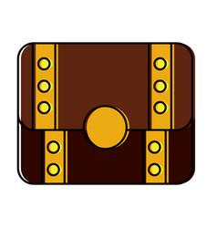 treasure chest closed icon imag vector image