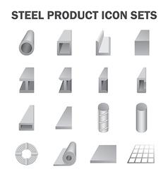Steel product vector