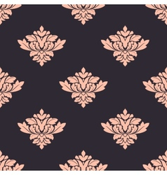 Vintage damask style seamless pattern vector image vector image