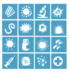 Bacteria virus and micro organisms vector