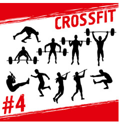 Crossfit concept vector