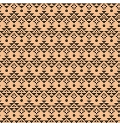 Geometric ethnic aztec mexican seamless pattern vector