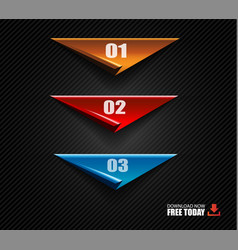 Modern infographic brochure template for product vector