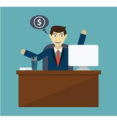 money making vector image