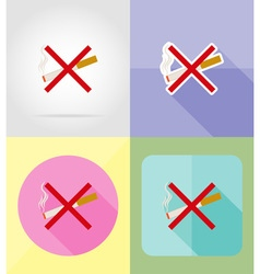 Service flat icons 04 vector
