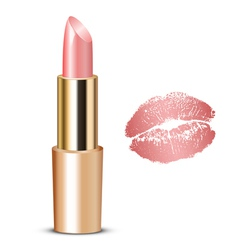 lipstick vector image vector image