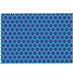 star shaped pattern vector image