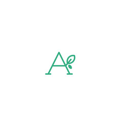 A letter vector
