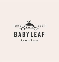 Baleaf hipster vintage logo icon vector