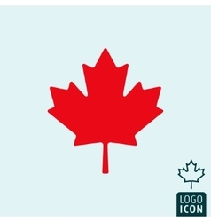Canada icon isolated vector image