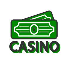 casino poker winner dollars template icon vector image