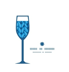 Knit sewater fabric horizontal texture wine glass vector
