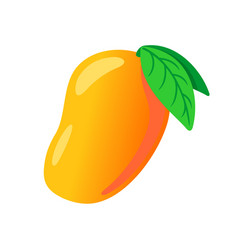 mango fruit isolated fresh vector image