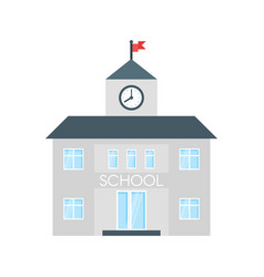 School building vector
