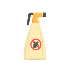 Sprayer bottle of insecticide extermination of vector