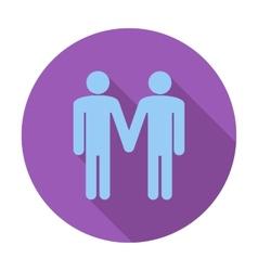 Gay sign vector image