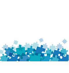 puzzle solution team work image vector image