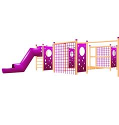 school playground vector image vector image