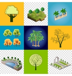 Set of images vector image vector image