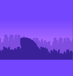 collection landscape london city building vector image