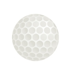 Golf ball isometric 3d icon vector image